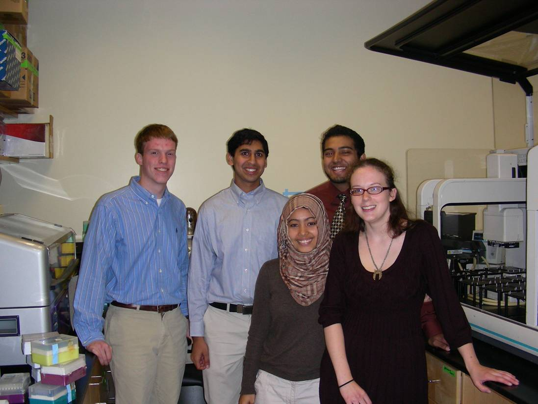 SURP 2011 Students